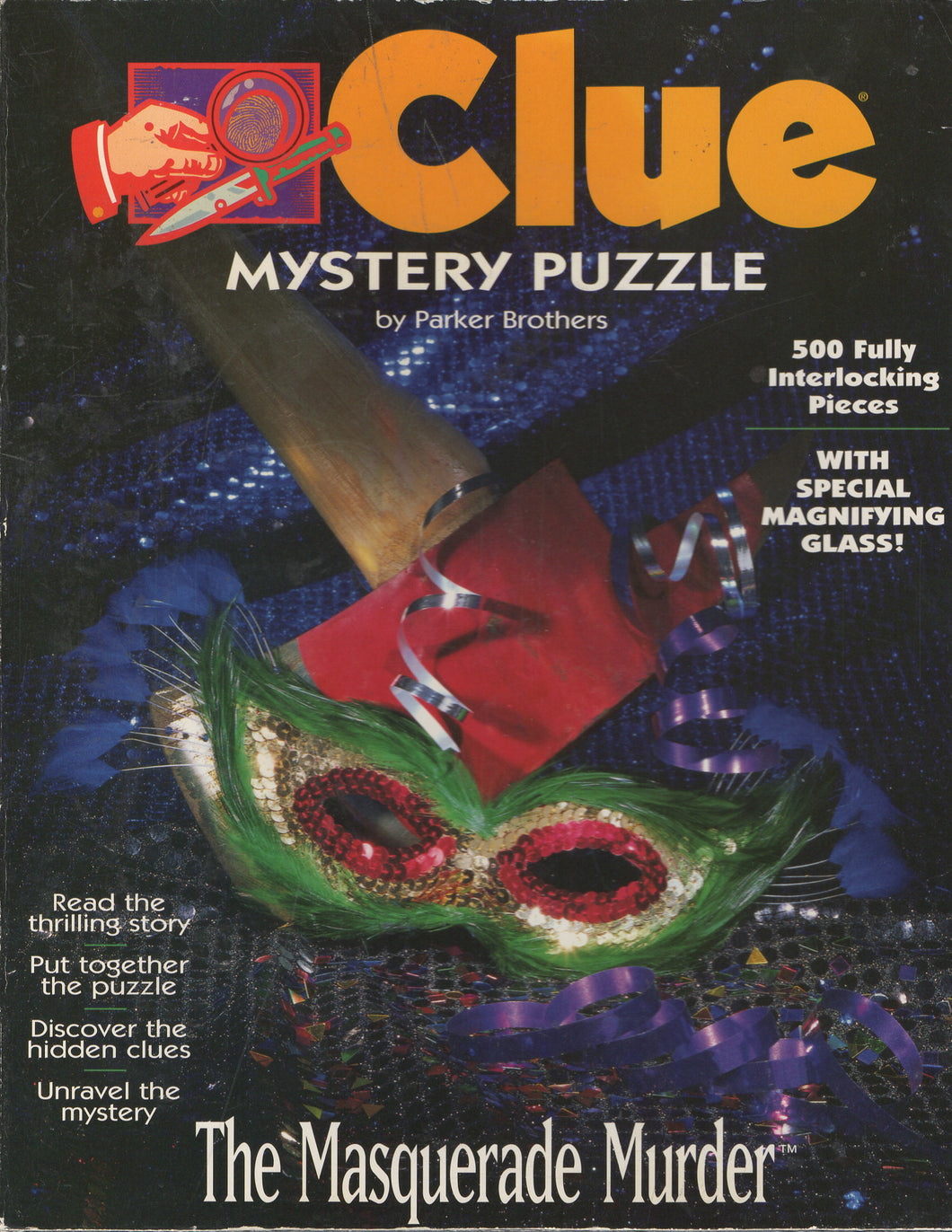 Rental - Clue Mystery Puzzle: The Masquarade Murder - Conundrum House