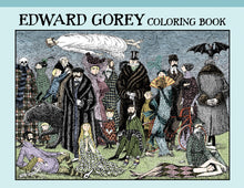 Load image into Gallery viewer, Edward Gorey Coloring Book - 10% OFF this product in June! - Conundrum House