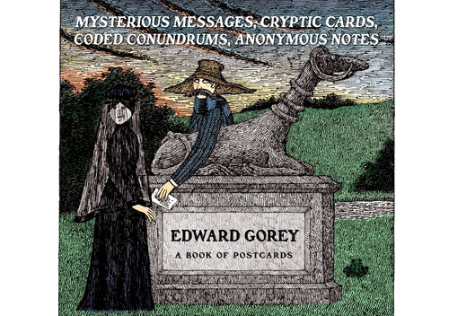 Edward Gorey: Mysterious Messages Book of Postcards
