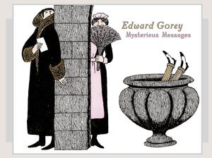Edward Gorey: Mysterious Messages Boxed Notecards