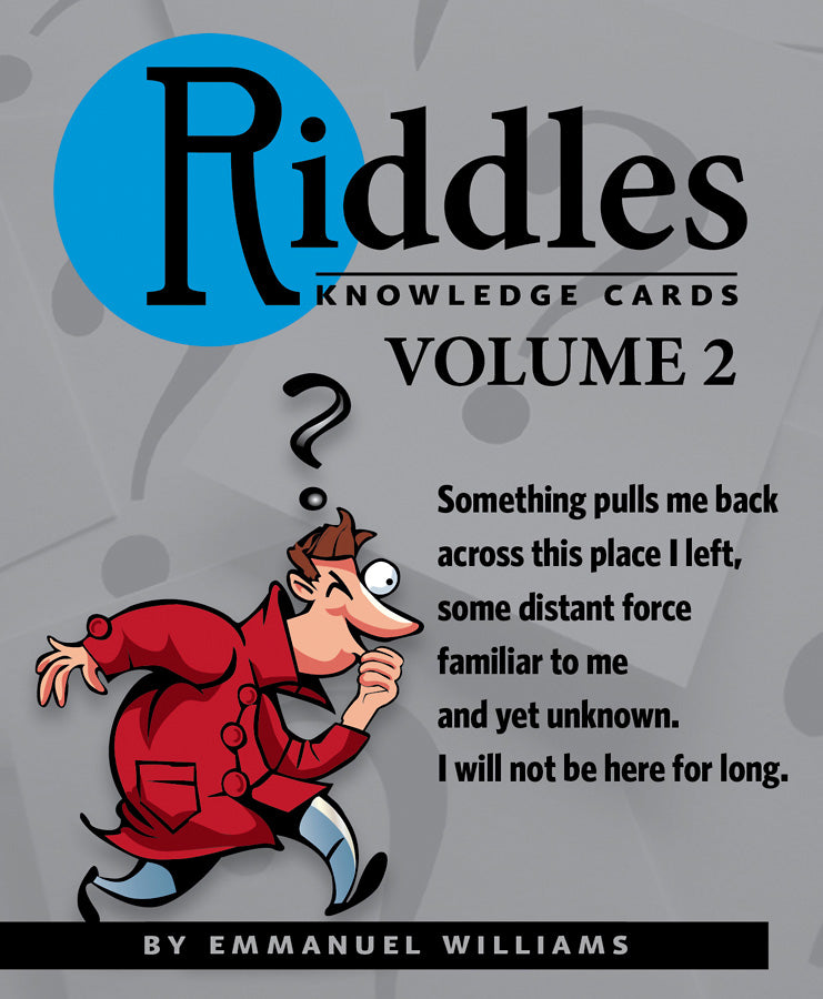 Riddles, Vol. 2 Knowledge Cards - Conundrum House