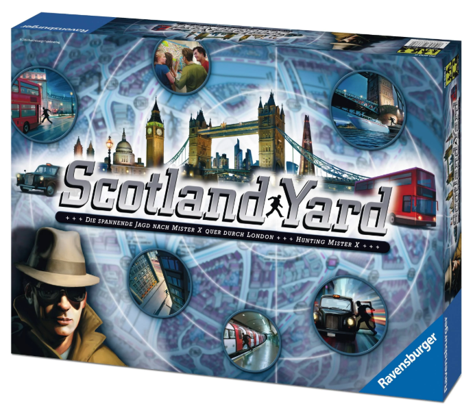 Scotland Yard Revised Edition - Conundrum House
