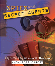 Load image into Gallery viewer, Spies and Secret Agents: A Quiz Deck by Sharon M. Hannon - Conundrum House