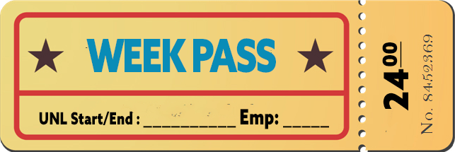 Non-Member Week Pass - Conundrum House