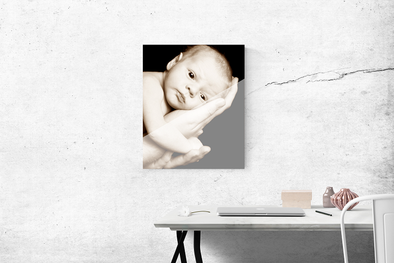 Portrait Clear Acrylic Prints by Feature Moments