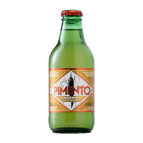 Pimento Ginger & Chilli Beer | 10 x 250ml Bottles | Natural Ingredients | 0% ABV