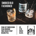 Cut Smoked Rum Miniature - 12 X 5CL