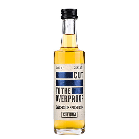 Cut Overproof Rum Miniature - 12 X 5CL