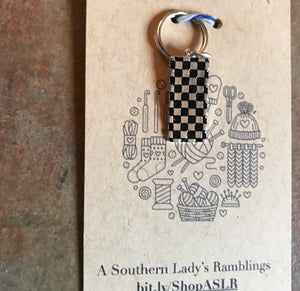 New York Taxi Stitch Marker, Progress Keeper, Planner Charm