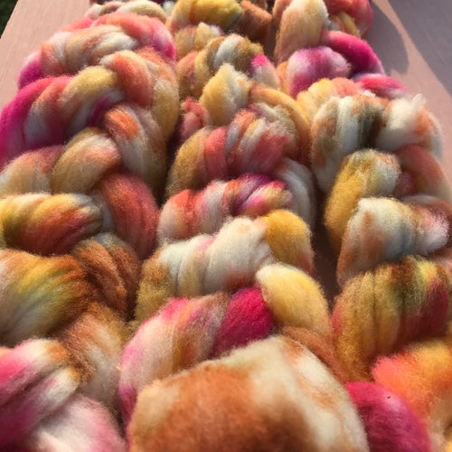 October Wool Roving