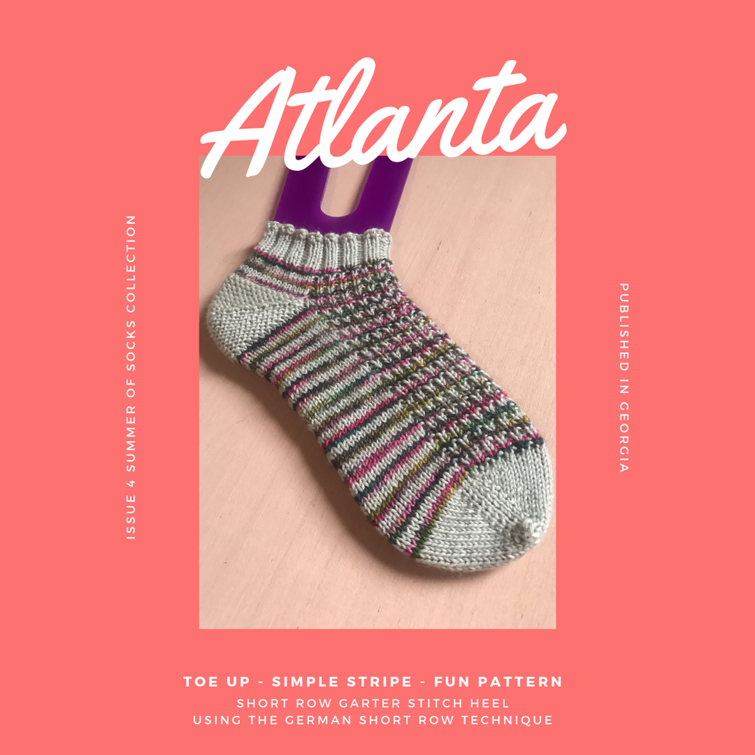 Atlanta Sock Pattern knitting pattern