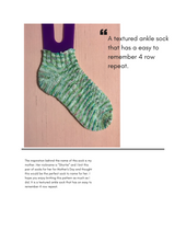 Load image into Gallery viewer, My Favorite Shortie Sock Pattern pattern