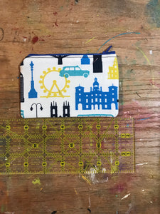 Small Notions Pouch / Coin Purse London sights