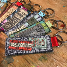 Load image into Gallery viewer, Collage Key Fob 1