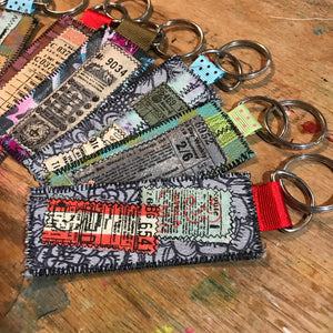 Collage Key Fob 1