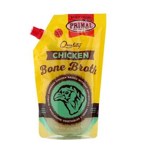 20 OZ. EASY POUR RE-CLOSABLE POUCH CHICKEN BONE BROTH
