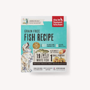 DEHYDRATED - GRAIN FREE FISH RECIPE (ZEAL)