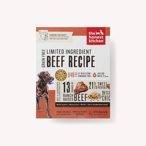 DEHYDRATED - LIMITED INGREDIENT BEEF RECIPE (HOPE)