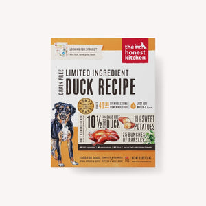 DEHYDRATED - LIMITED INGREDIENT DUCK RECIPE (SPRUCE)