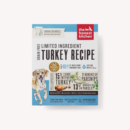 DEHYDRATED - LIMITED INGREDIENT TURKEY RECIPE (MARVEL)