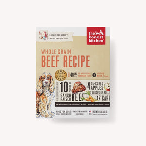 DEHYDRATED - WHOLE GRAIN BEEF RECIPE (VERVE) DOG FOOD