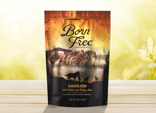 Dakota Den Born Free