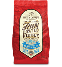 Wild-Caught Whitefish Recipe Raw Coated Baked Kibble