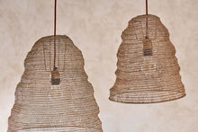 Load image into Gallery viewer, Jatani Wire Lampshades - Antique Brass