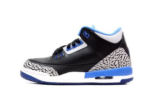 "Air Jordan 3 Retro BG ""SPORT BLUE"""