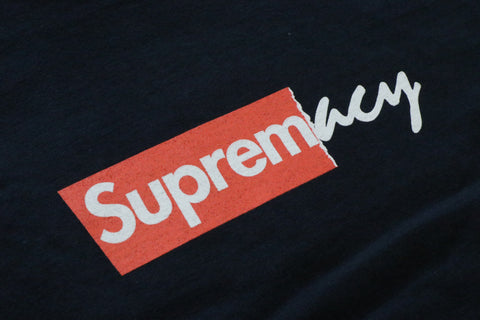 "Sole Supremacy Tee ""SUPREME/NAVY"""