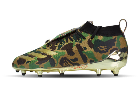 "Adidas Cleat ""GREEN CAMO BAPE"""