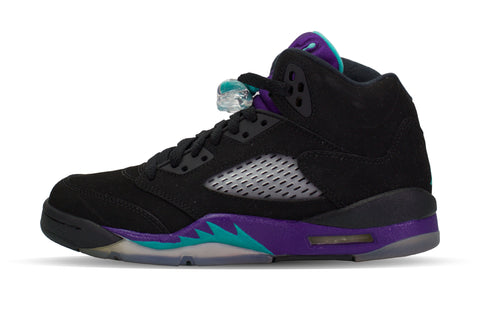 "Air Jordan 5 Retro GS ""BLACK GRAPE"""