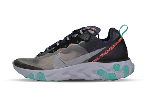 "Nike React Element 87 ""BLACK/NEPTUNE GREEN"""
