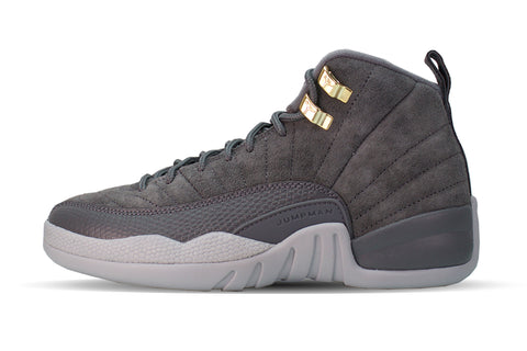 "Air Jordan 12 Retro BG ""DARK GREY"""