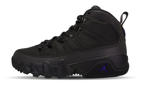 "Air Jordan 9 Retro Boot NRG ""BLACK/CONCORD"""