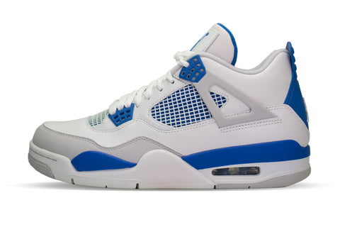 "Air Jordan 4 Retro ""MILITARY BLUE"" 2012"
