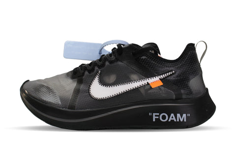 "Nike OFF-WHITE x Zoom Fly ""BLACK"""