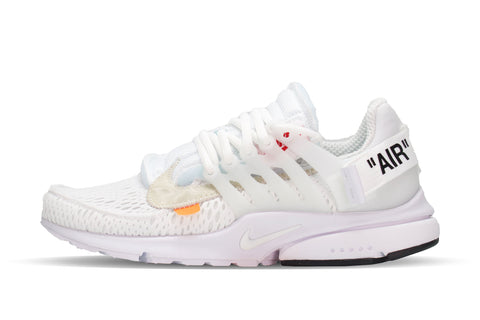 "Nike OFF WHITE x Air Presto ""WHITE"" 2018"