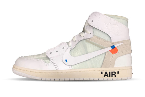 "Air Jordan 1 Retro X OFF WHITE NRG ""WHITE"""
