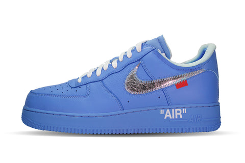 "Nike OFF-WHITE x Air Force 1 ""MCA/UNIVERSITY BLUE"""
