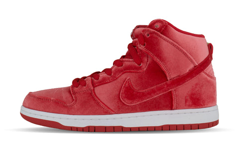 "Nike Dunk High Premium SB ""RED VELVET"""
