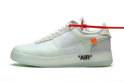 Nike Off White X Air Force 1 Sole Supremacy