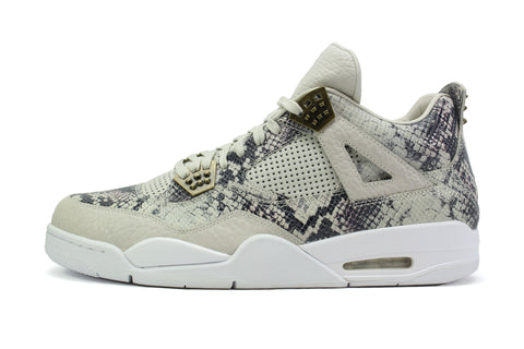 "f01dc9df24b Air Jordan 4 Retro Premium PINNACLE ""SNAKESKIN"