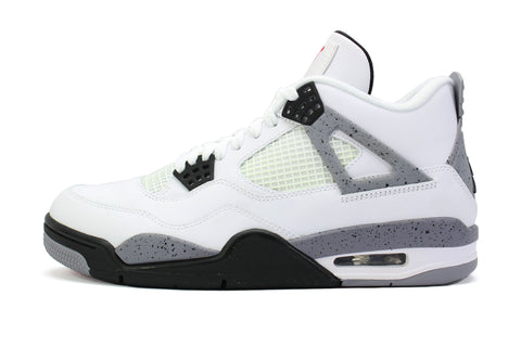 "Air Jordan 4 Retro ""WHITE CEMENT"" 2012"