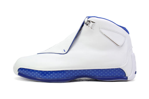 "Air Jordan 18 Retro ""WHITE/SPORT ROYAL"""