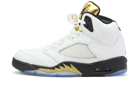 "Air Jordan 5 Retro ""OLYMPIC GOLD"""