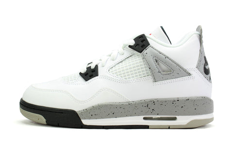 "Air Jordan 4 Retro OG BG ""WHITE CEMENT"" 2016"