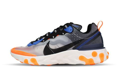 "Nike React Element 87 ""THUNDER BLUE/TOTAL ORANGE"""