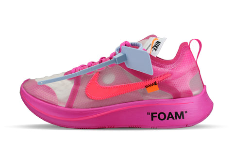 "Nike OFF-WHITE x Zoom Fly ""TULIP PINK"""