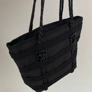 Utility Mini Tote Bag - Black - FLXNfashion